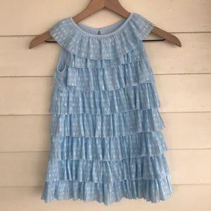 ✅Cat & Jack Lace Ruffle Dress Size 4T